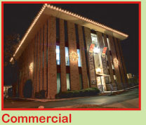 Commercial Christmas Light Services in Austin